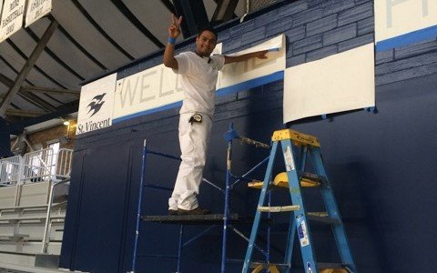 Commercial-Painting-at-Hinkle-Fieldhouse