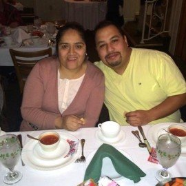 Estela and Rodolfo