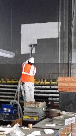 Cost saving industrial cleaning