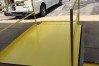 Safety yellow urethane finish coat