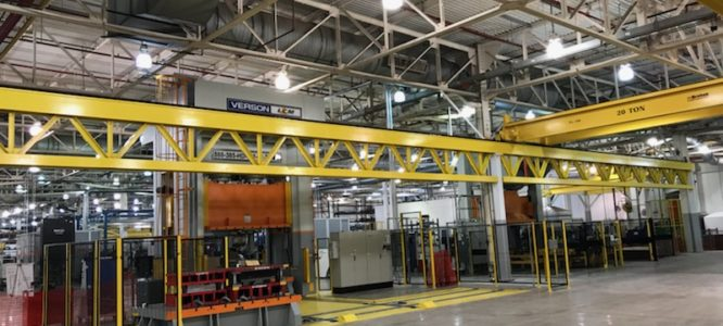 Brehob Corporation hoist in New Castle, IN