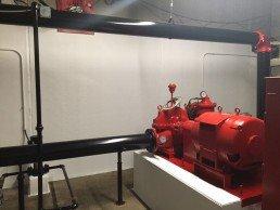 Carrier Pump Room